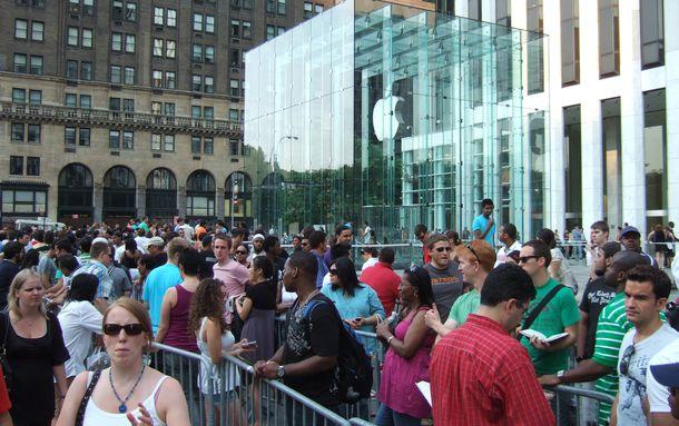 Foto: Apple o el onanismo de la electrónica