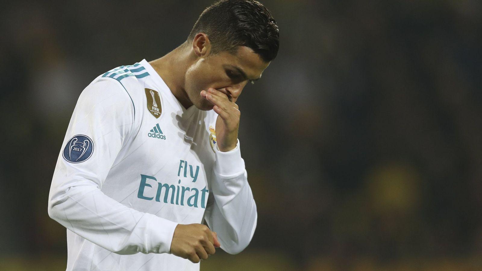 Foto: Cristiano Ronaldo en el partido frente al Borussia. (Reuters)