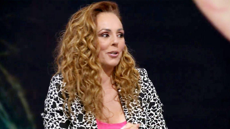Rocío Carrasco, durante la última entrevista. (Telecinco)