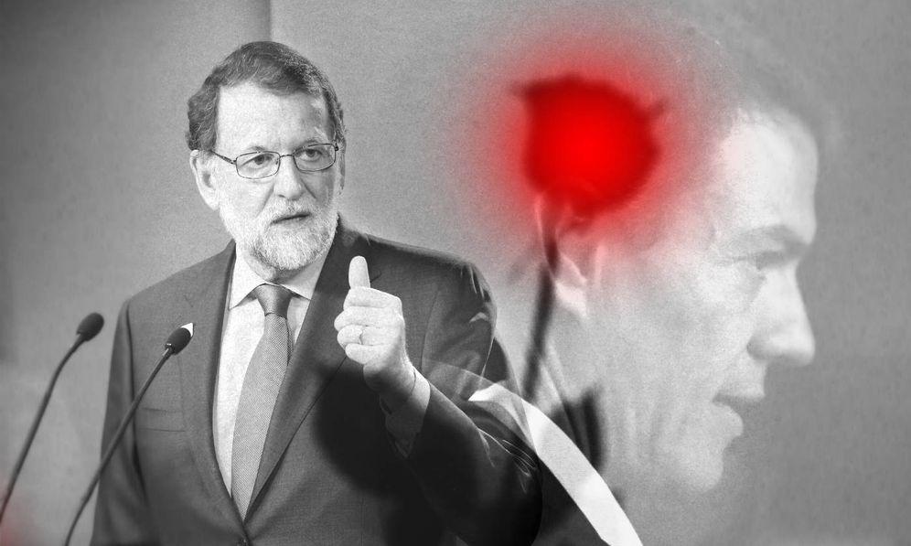 Foto: Mariano Rajoy (d) y Pedro Sánchez. (Imagen: Enrique Villarino)