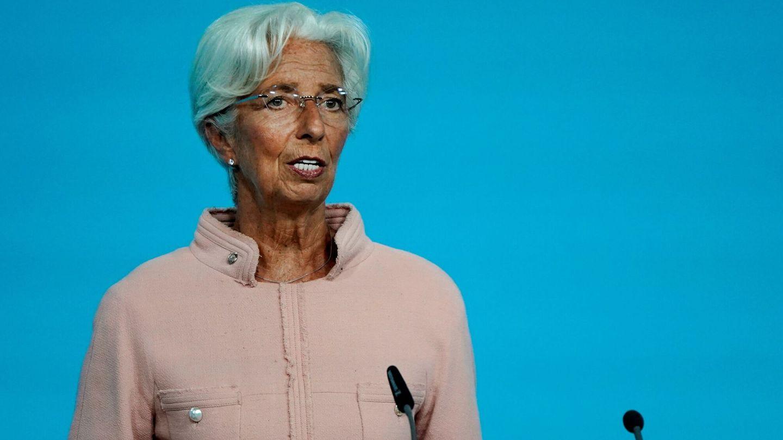 Christine Lagarde, presidenta del BCE. (EFE)