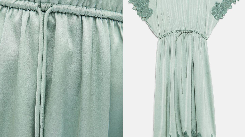 Detalles del vestido del verano. (Cortesía)