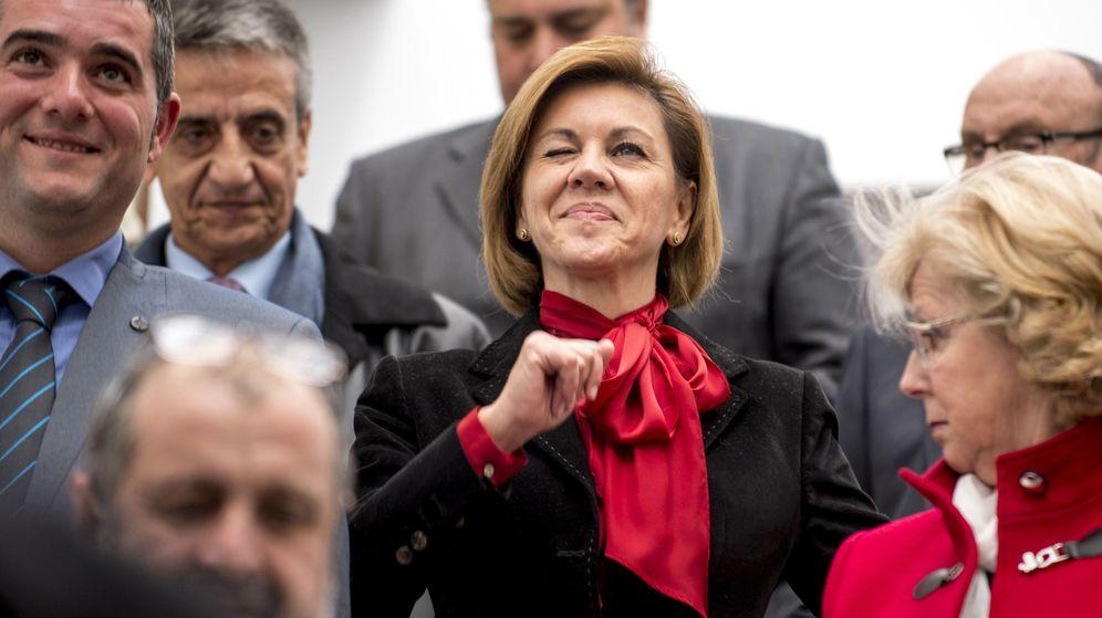 Foto: Cospedal pide comparecer en el Congreso (Efe).