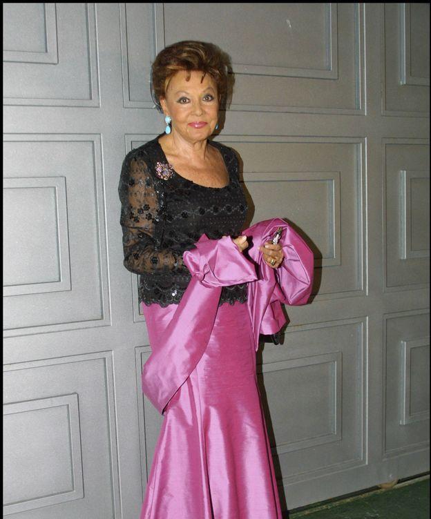 Foto: Paquita Rico en una imagen de archivo. (Gtres)