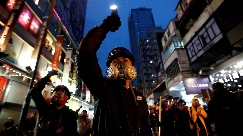 Foto de archivo de las protestas en Hong Kong, en agosto de 2019. (Reuters)
