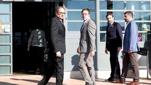 Torra y Torrent visitan a los presos del 'procés' con varios 'consellers'