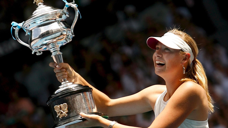 Maria Sharapova, en el Open de Australia 2008. (EFE)