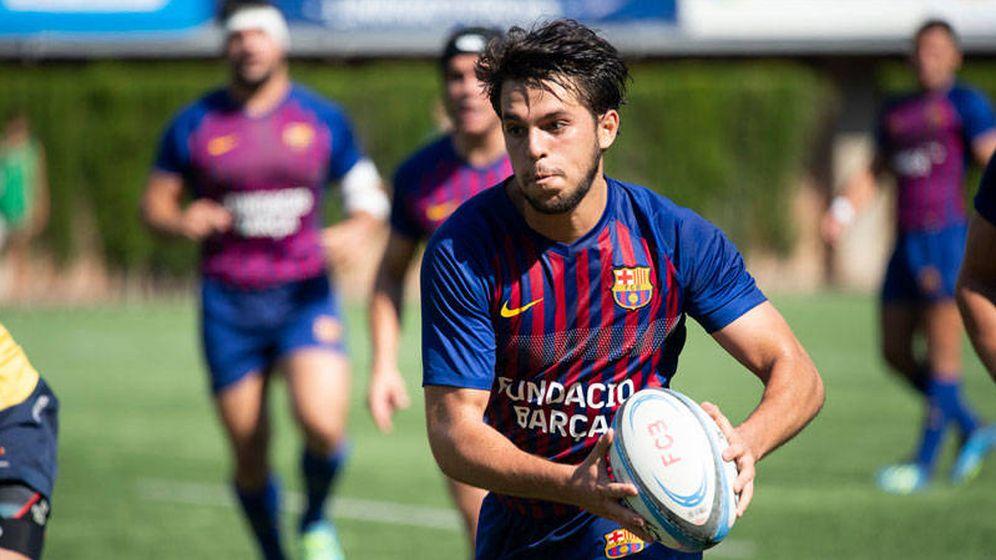 Foto: El FC Barcelona de rugby acaba de alcanzar las semifinales de la Copa del Rey. (Víctor Salgado/FC Barcelona)