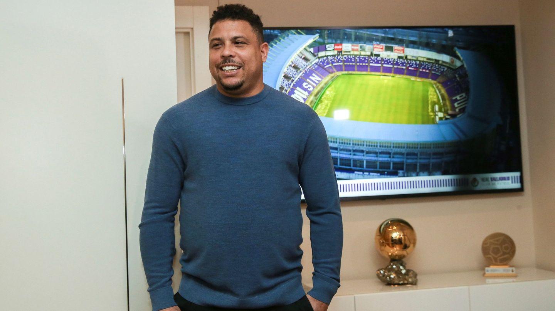 Ronaldo, años después de retirarse. (EFE)