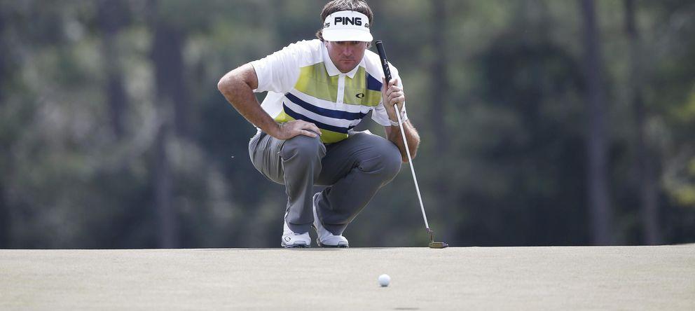 Foto: Bubba Watson se colocó como líder gracias a una excepcional actuación en la segunda jornada del Masters de Augusta.