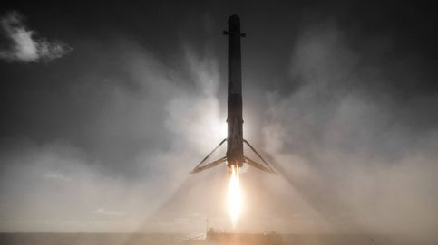 Las fotos más impresionantes del último aterrizaje del cohete Falcon 9 de SpaceX