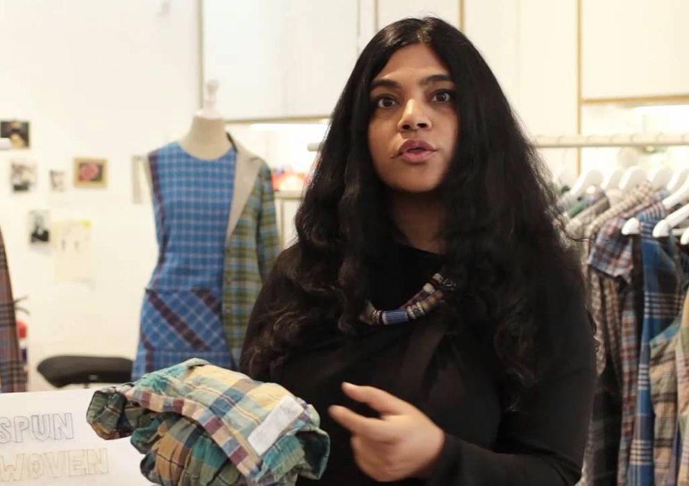 Foto: La diseñadora de moda y emprendedora Kavita Parmar, afincada en España desde 2001