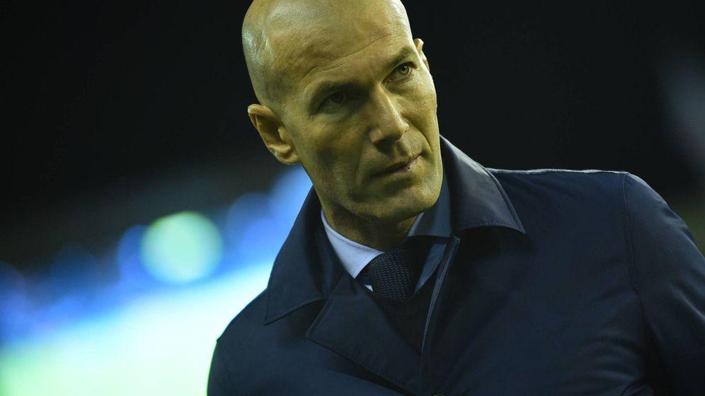 Foto: Zidane vive su peor momento como entrenador del Real Madrid. (Cordon Press)