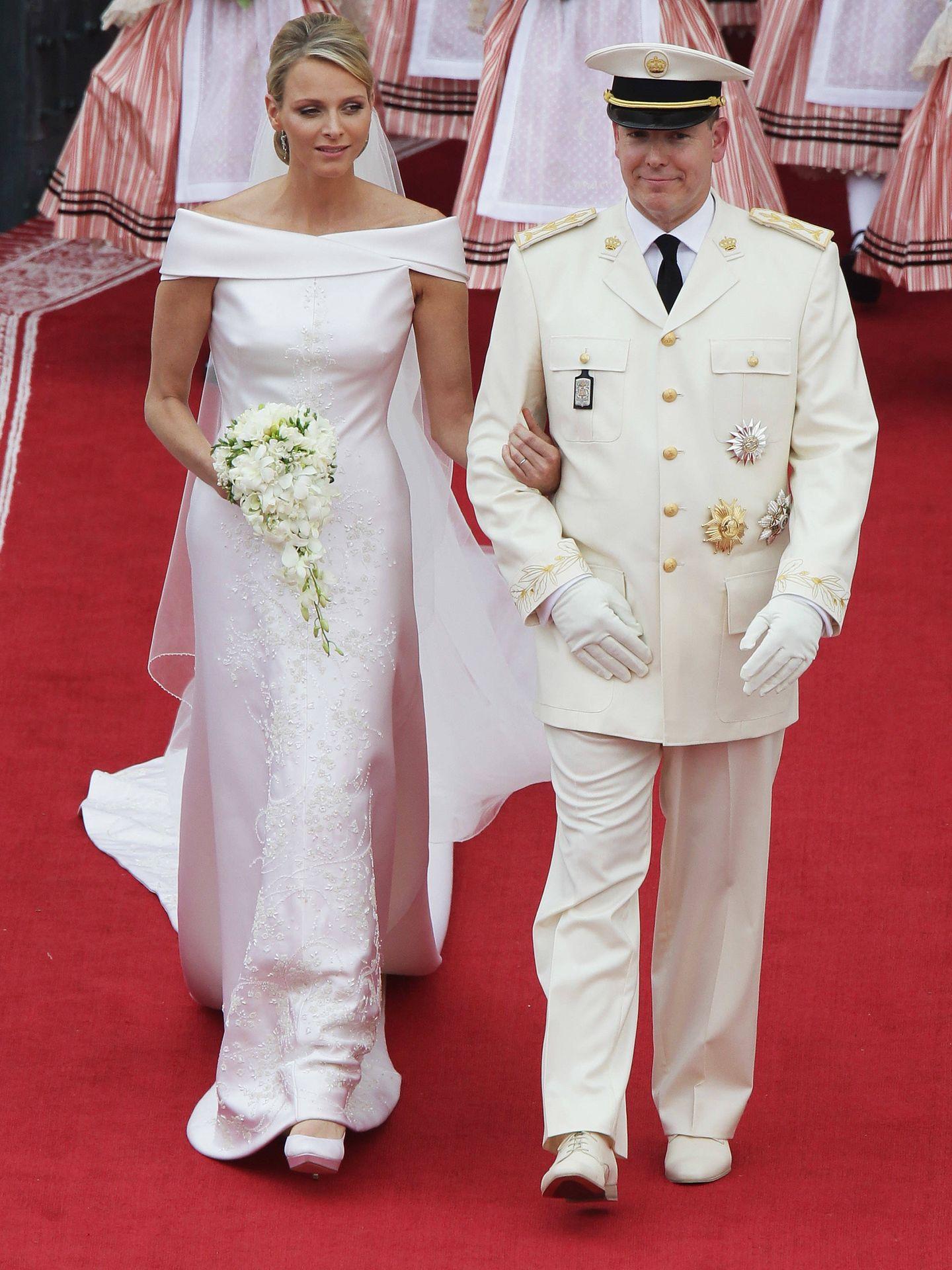 Los príncipes de Mónaco. (Getty)
