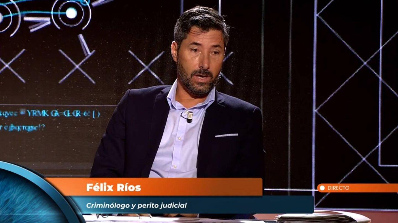 Félix Ríos en 'Horizonte'. (Mediaset España)