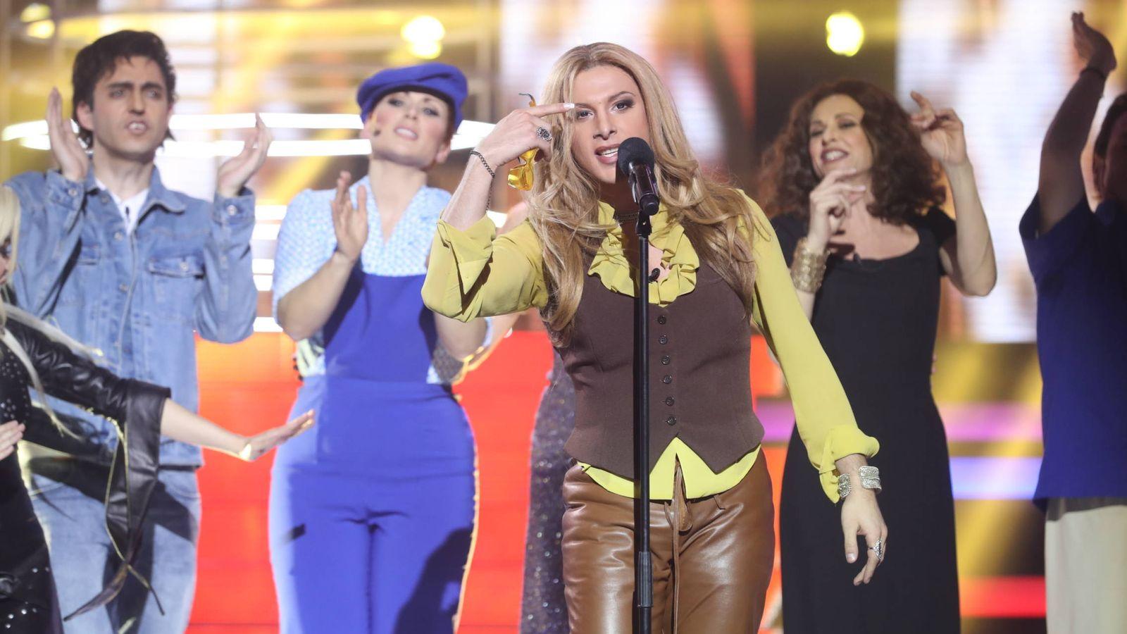 Foto: Blas Cantó se lleva la primera semifinal de 'Tu cara me suena'