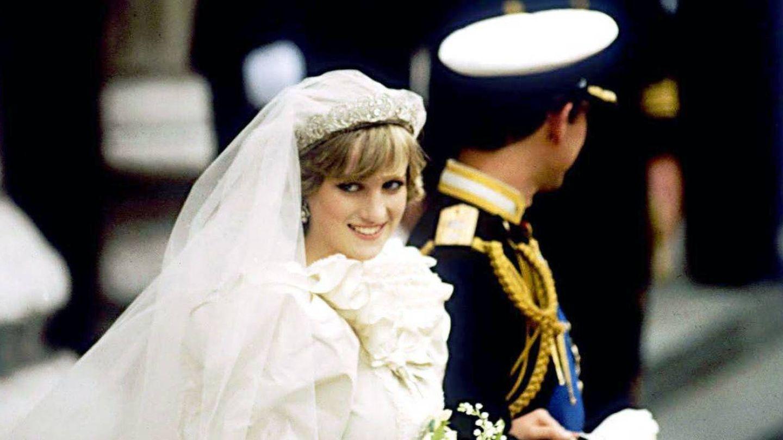 Carlos y Diana, el día de su boda. (Cordon Press)