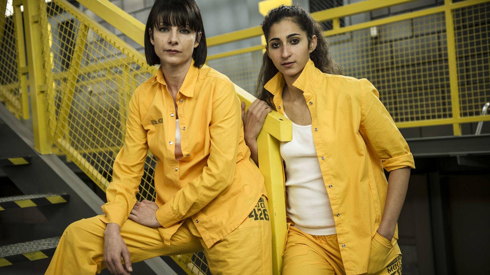 Foto: Zulema y Saray, dos de las protagonistas de 'Vis a vis'.