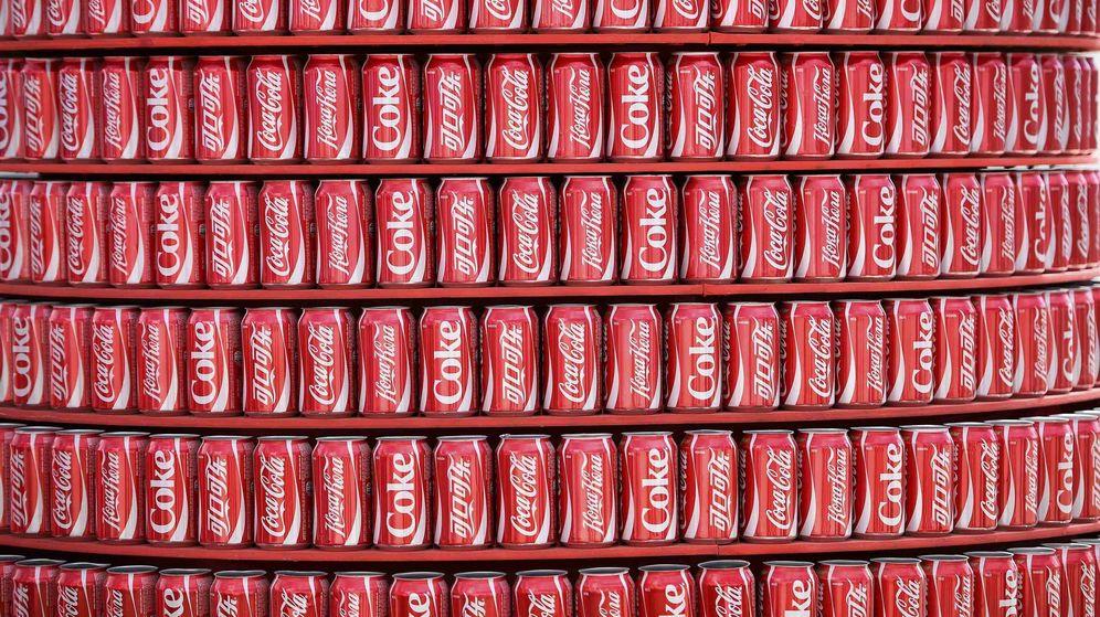 Foto: Coca-Cola en un estadio de Brasil (Reuters)