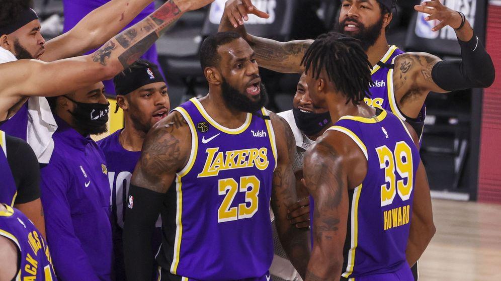 Foto: LeBron James llevó a los Lakers a la final de la NBA. (EFE)