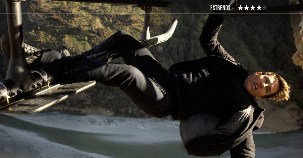 Foto: Tom Cruise vuelve a interpretar a Ethan Hunt en la sexta entrega de 'Misión: Imposible'. (Paramount)