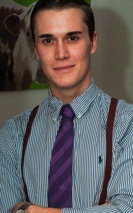 Foto: Moritz Erhardt, de 21 años, trabajaba para BAML y sufría problemas epilépticos.