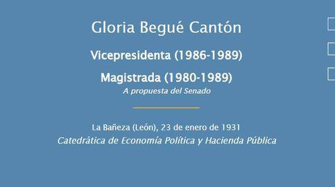 Gloria Begué: economista, jurista y magistrada del Constitucional