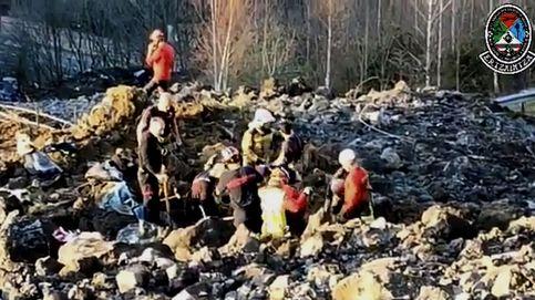 Reanudan la búsqueda de los trabajadores sepultados en el vertedero de Zaldibar