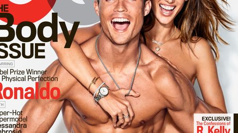Ronaldo y Alessandra Ambrosio protagonizan un sensual posado