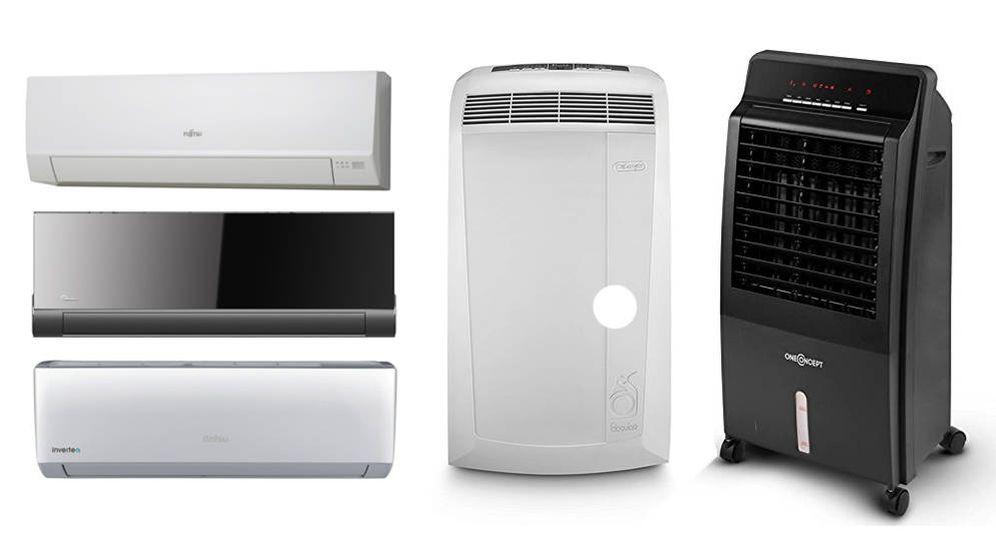 Foto: En el mundo de los ventiladores y los aires acondicionados hay opciones para todos los gustos y bolsillos