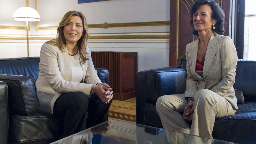Susana Díaz medió para salvar Abengoa con el Santander como principal aliado