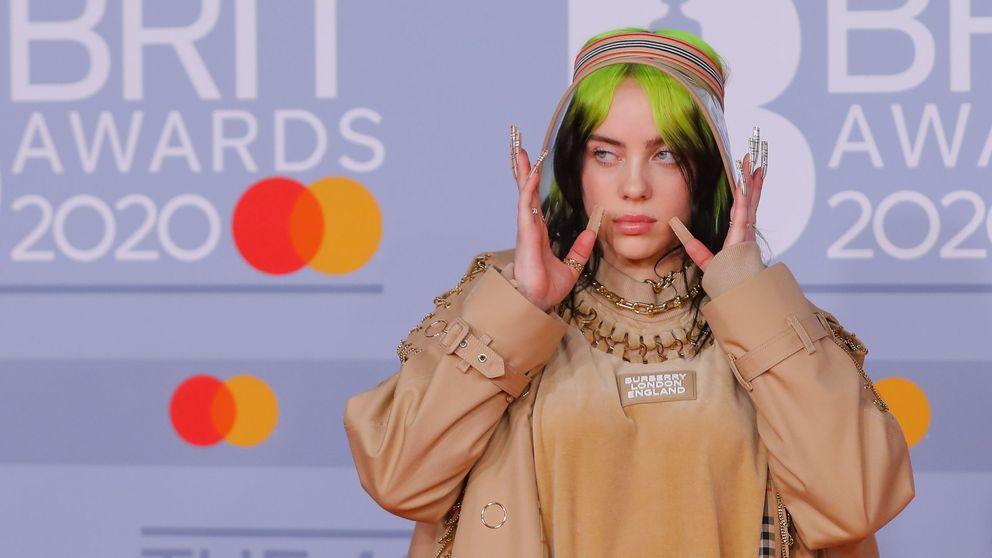 Los mejores y peores looks de los Brit Awards: envoltorios de chocolatinas y Billie Eilish