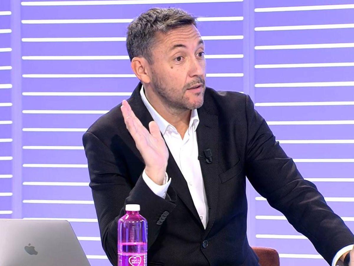Foto: El periodista Javier Ruiz, colaborador de 'Cuatro al día'. (Mediaset)