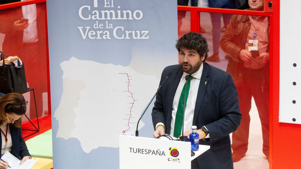 Foto: El presidente de Murcia, Fernando López Miras. (EFE)