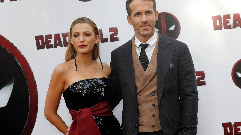 Ryan Reynolds y Blake Lively, en la première de 'Deadpool 2'. (Gtres)