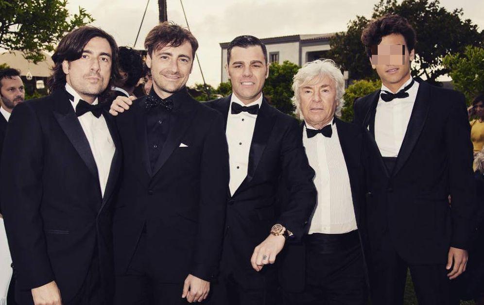 Foto: Ángel Nieto con Gelete, Pablo, Hugo y Fonsi. (Instagram)