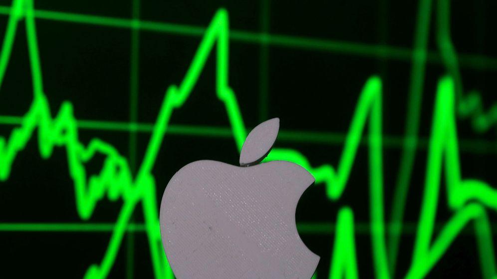 Foto: Acciones de Apple.