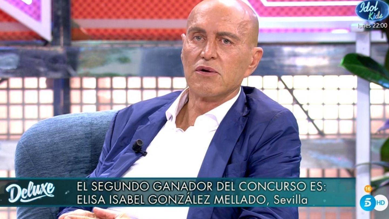 Matamoros desafiando a Laura Fa. (Telecinco).