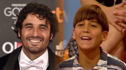 La primera vez en TV de Álex García: con 13 años junto a Rueda y hablando al revés
