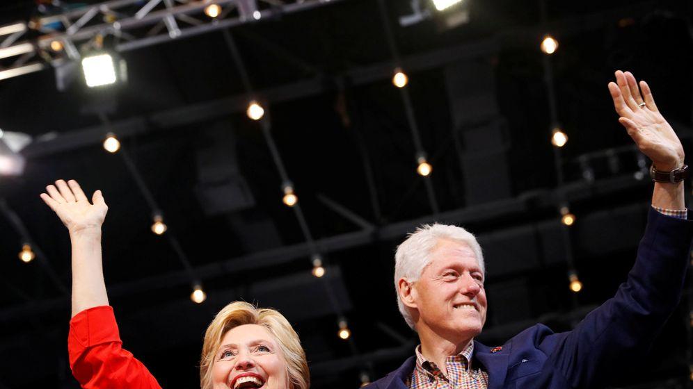 Foto: Hillary y Bill Clinton en un acto el pasado 30 de julio en Pensilvania