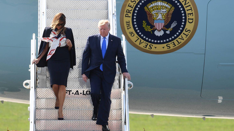 Melania y Donald Trump. (Getty)