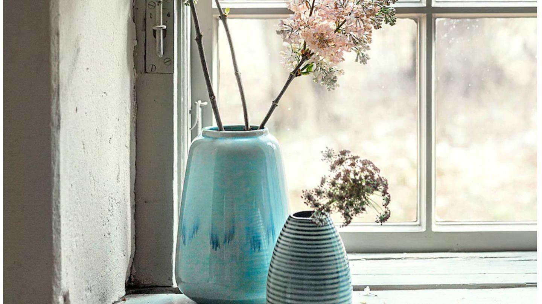 Nuevos jarrones y floreros de Ikea. (Cortesía)
