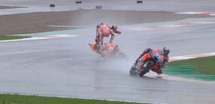 Post de Cuando el sentido común (de Dovizioso) bate a Marc Márquez en una carrera de récord