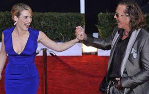 Kate Winslet se impone a Penélope Cruz en los premios del Sindicato de Actores