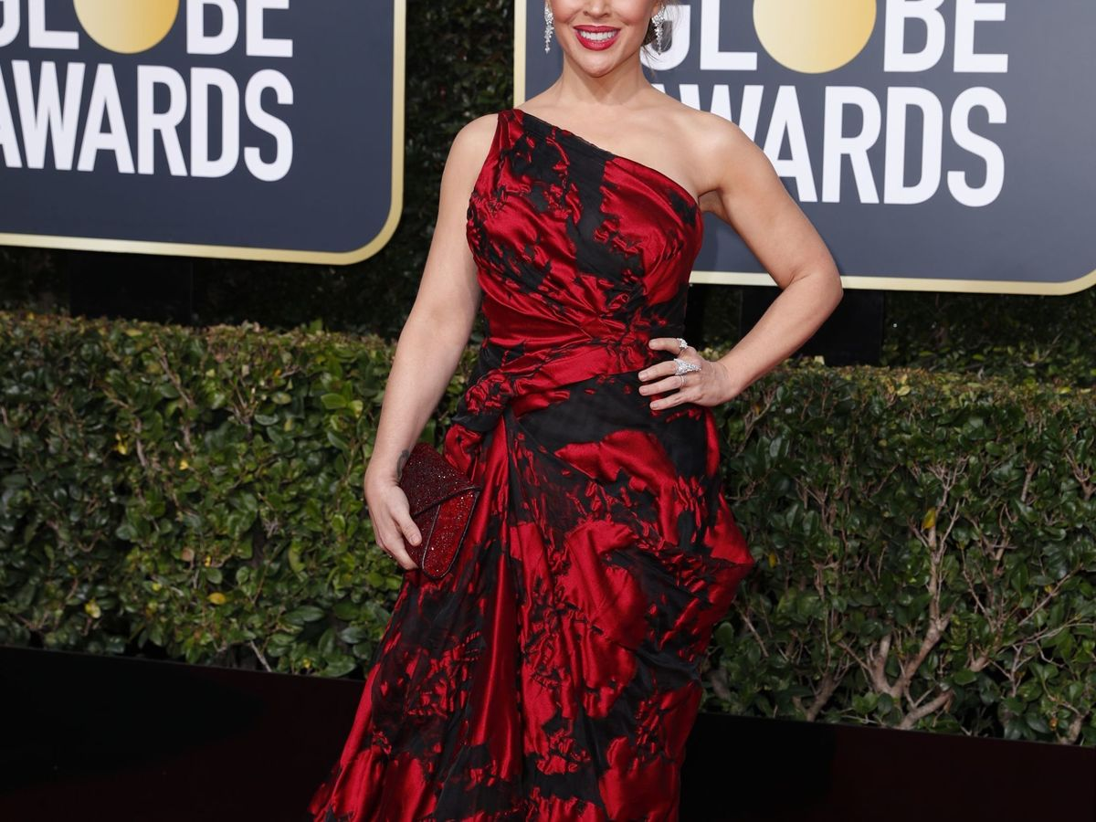 Foto: Alyssa Milano en los Globos de Oro de 2019. (Reuters)