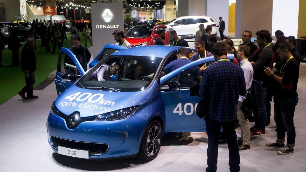 Foto: El nuevo Renault Zoe, uno de los modelos eléctricos. (EFE)