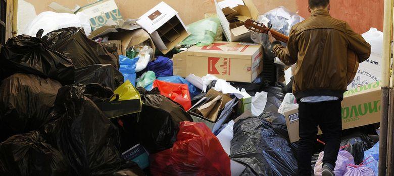 Foto: Tres días de huelga de limpieza en Málaga