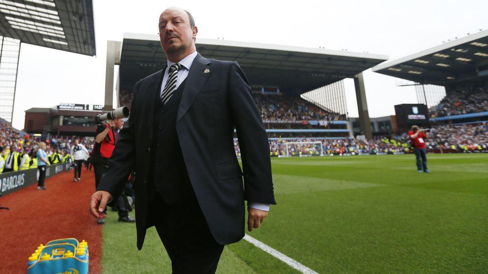 El 'annus horribilis' de Benítez:  despido en el Madrid y descenso en Newcastle