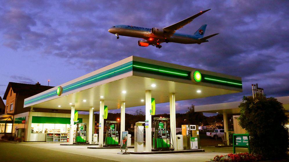Foto: Foto de archivo de una estación de servicio de BP. (Reuters)