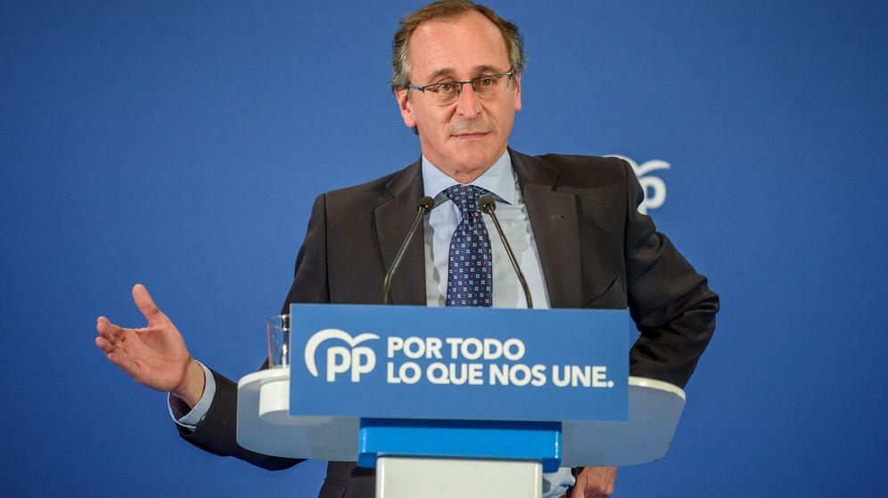 Foto: El presidente del PP Vasco, Alfonso Alonso. (EFE)
